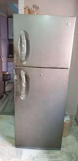 LG two door fridge full working condition
