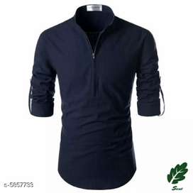 Designer Cotton Men's Kurta(This is online product)