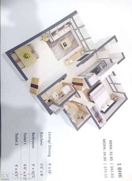 1BHK FLAT AVAILABLE