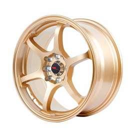 Velg Mobil HSR Misaki Ring16 H8 ET40 Gold 2