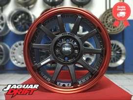 Pelek Racing Honda Mobilio Hsr Gymkana Boroko Ring 16 Pcd 4x100-114,3