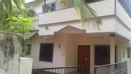 PALAKKAL, Thrissur, 4cent, 1200 sqft, 6 years old house,40 Lakh Negoti