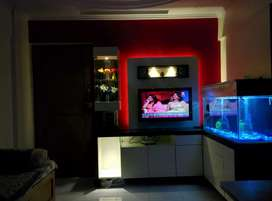 Fish tank.10mm thick glass with Pinewood waterproof cover