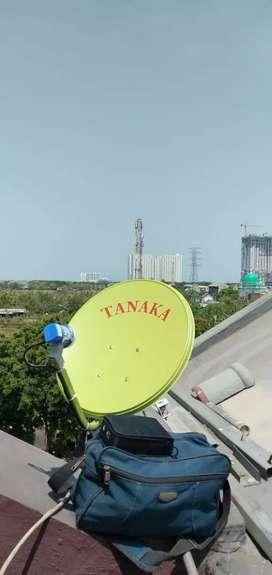 Antena parabola bebas bulanan penggantinya antena uhf