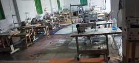 Sewing machine factory all types of cloth production