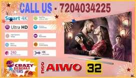 """Diwali dhamaka New neo aiwo 40"""" Android Ultimate Pro 4k ledtv"""