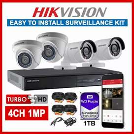HD CCTV Camera Kit l CP Plus and Hikvision06