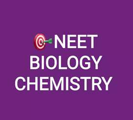 NEET biology-500/chapter & chemistry 1000/chapter