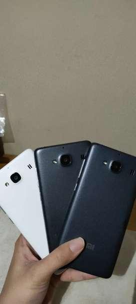 Stok 60 unit (Xiaomi Redmi 2) 4G Dual Sim, OS android 4.1, RAM 1/8GB,