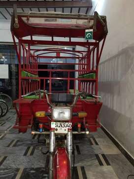 Motor sycle Loading Riksha super speed