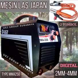 Mesin las japan type mma 250 digital 2  mm- 4mm