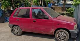 Maruti800 Petrol Good Condition but paper not clear scrap only,