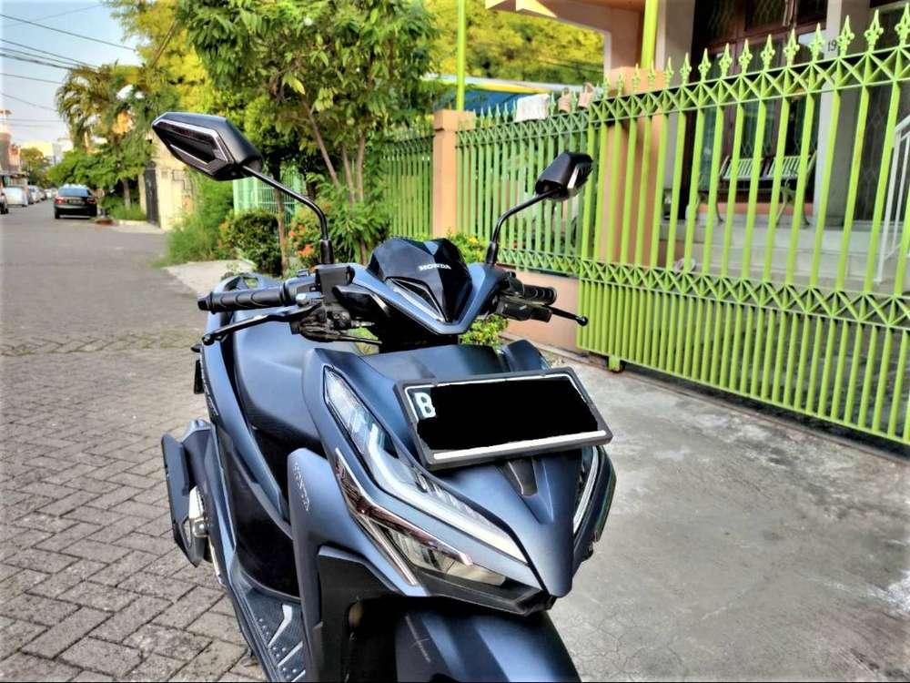 Honda Vario 150 Exclusive TH 2019 Keyless Matte Blue baru 700km