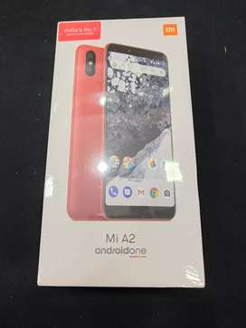 Sealed Redmi Mi A2 6gb ram 128gb Red colour available