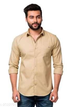 Catalog Name: *Elite Men's Stylish Cotton Matty Shirts