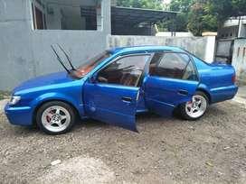 dijual mobil toyota soluna Xli tahun 2001