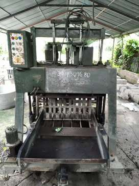 Solid bricks machine &mixer machine