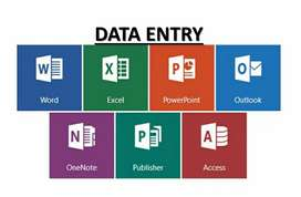 Data entry,typing,copy-paste