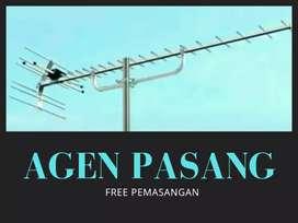 Gerai toko pasang baru sinyal antena tv digital