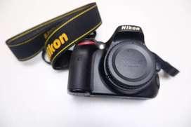Nikon D5100 Body Only, Dus lengkap