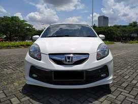 Honda Brio E 1.2 MT Km 20ribuan  Asli record honda