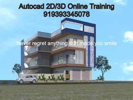 Autocad 2D/3D Online Training by Anand