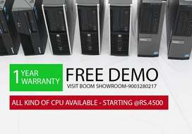 Visit Boom Show Room | Warranty | All Brand Cpu & Monitor | 955II33355