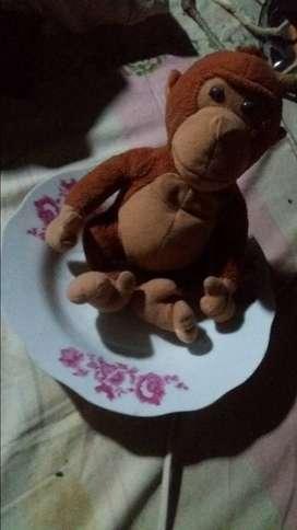 Boneka monkey asli luar negri