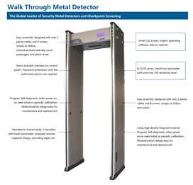 Metal Detector Gate Walk Through