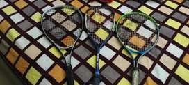 Branded tennis bats