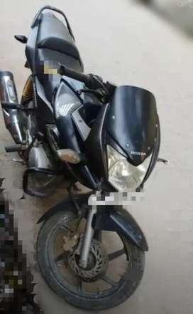 Honda Stunner bike black colour