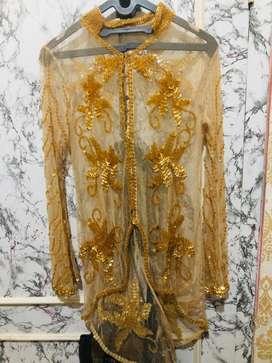 Kebaya manik gold / baju pesta / kebaya wanita