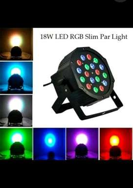Lampu RGB Disco Slim Par Light