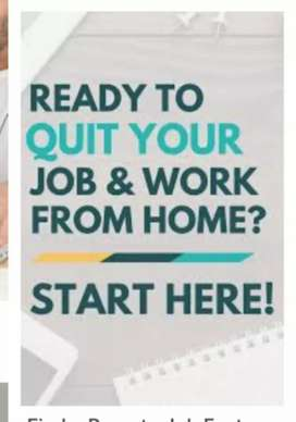 Work form home/ data entry work /simply typing work