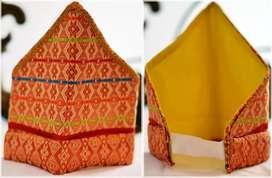 siga bare'e , penutup kepala ciri khas suku baree palu sulawesi tengah
