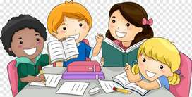 Tution taken from classes 1 to 5 All subjects + spoken English skills