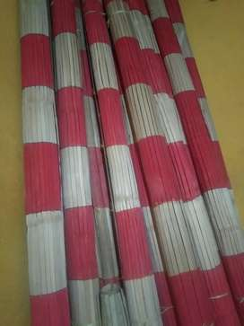Tirai kulit bambu dan rotan dan kayu maranti terbaru