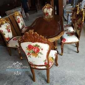 Set kursi makan jambu meja gendong