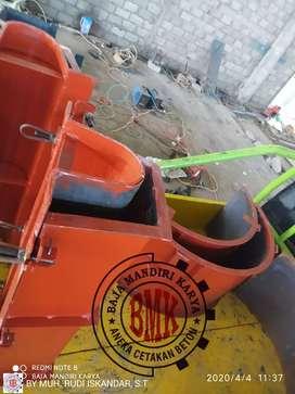 Cetakan buis beton dan gorong gorong langsung dari pembuatan u800*500