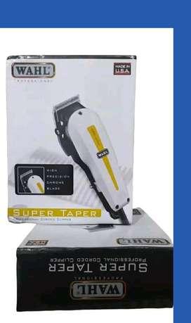 1 Set Mesin Cukur Rambut wahl Super Taper Alat Cukur USA GS89