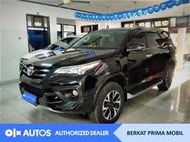 [OLXAutos] Toyota Fortuner 2017 VRZ 2.5 Diesel AT Hitam #Berkat Prima