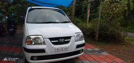 Hyundai Santro xing car