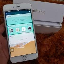 Iphone 6 Plus 16Gb Silver. RESMI IBOX BARANG ISTIMEWA.