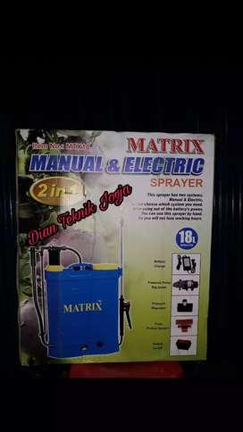Dian Teknik bka smp mlm Sprayer penyiram hama 2 in 1 manual & elektrik
