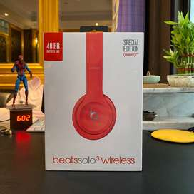 Headphone Beats Solo 3 Wireless (Special Red Edition) ORIGINAL