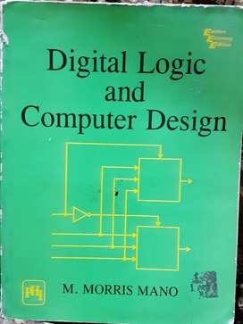 Digital logic and computar design by morris mano book
