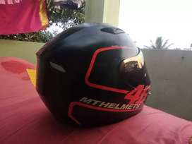 Well maintained MT helmet for sale