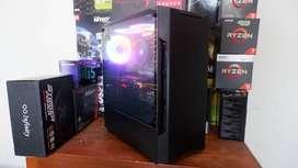 PC Komputer Rendering,Gaming,Streaming Ryzen 5 2600 Feat GTX 1060 OK