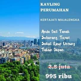 Kapling Kertajati Majalengka Dekat SPBU Akses Jalan Bagus 1 Juta