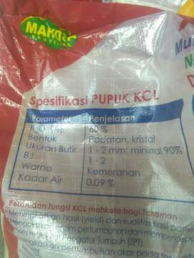 pupuk KCL (untuk pembuahan tanaman)